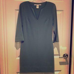 Dvf  jade green dress 2